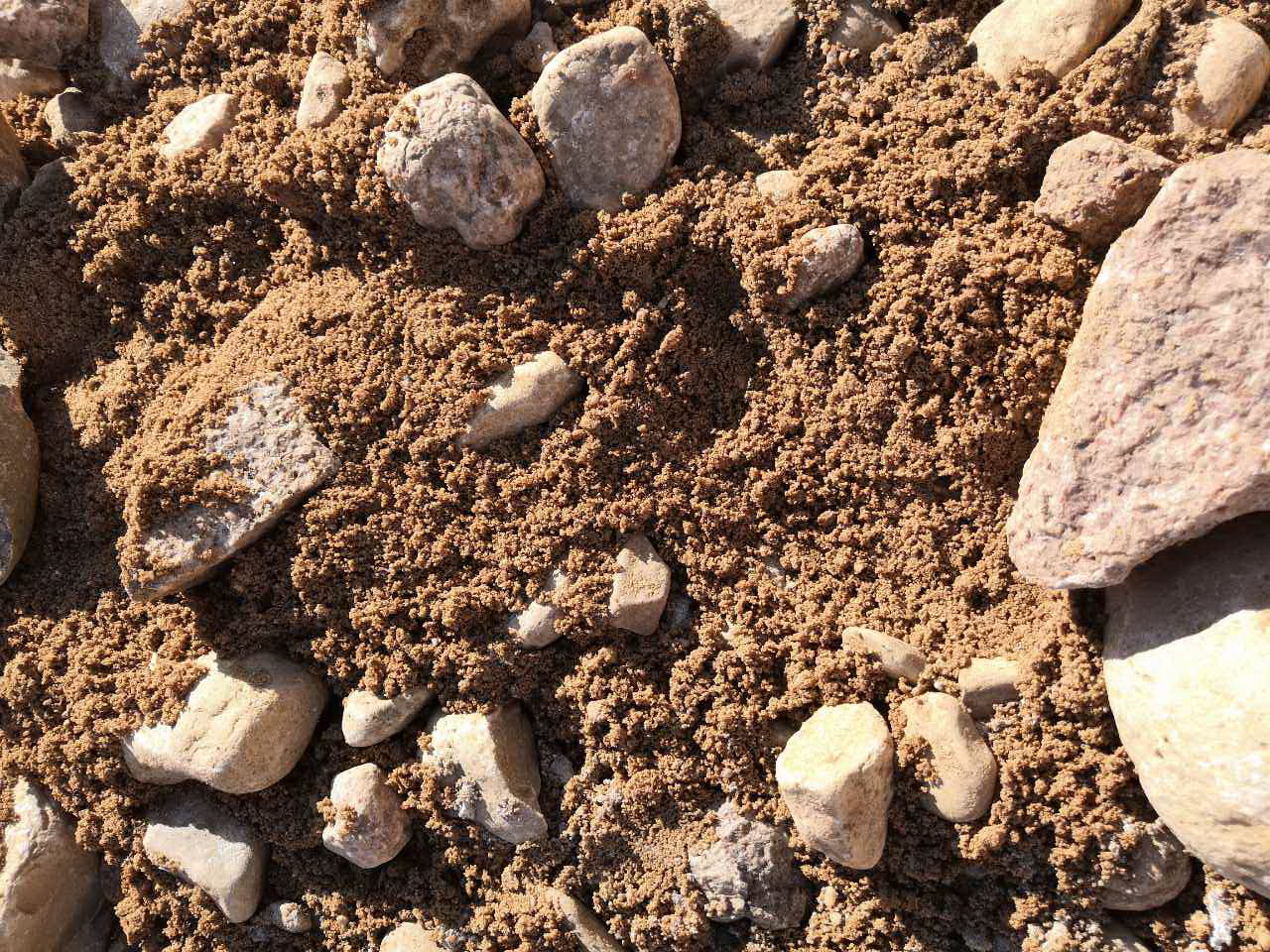 Песчано-гравийные смеси. Характеристики и область применения.
